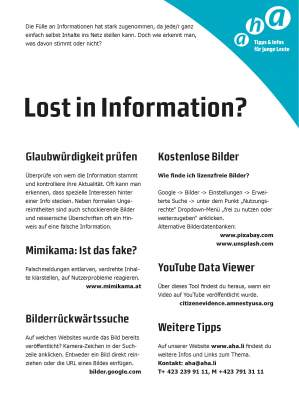 Lost in Information