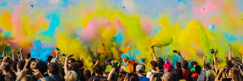Holi Farbenfest