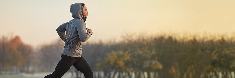 Leben A-Z_Sport_Mann am joggen