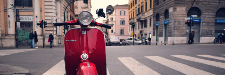 Louis startete in Italien durch